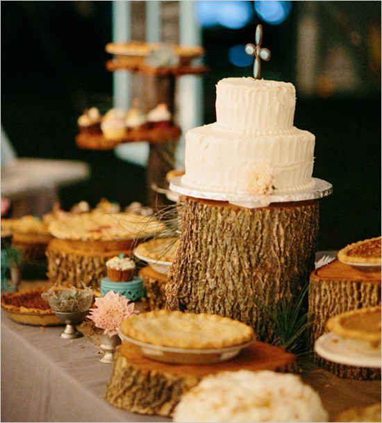 Explore wedding cake alternatives.