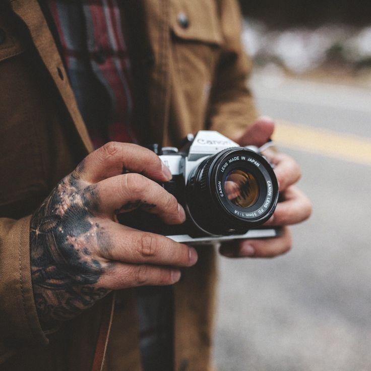Tattoos and film cameras.