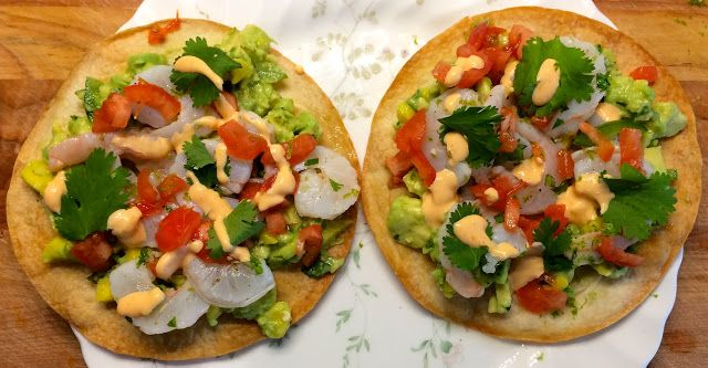 54th Home Chef Review & GIVEAWAY, Ceviche Style Shrimp Tostadas