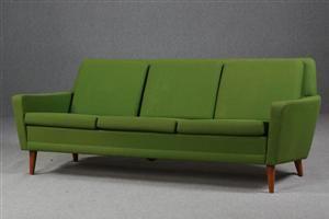 Køb og sælg moderne, klassiske og antikke møbler - Dux. 3 personers sofa fra 60`erne - DK, Helsingør, Støberivej