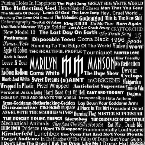 Marilyn Manson - Marilyn Manson - Sweet Dreams Lyrics