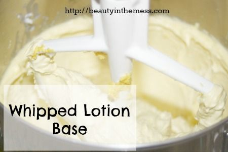 WHIPPED BODY BUTTER BASE RECIPE 10 oz Shea Butter 4 oz Almond or Grapeseed Oil 4 oz Coconut Oil (solid form) Whip in mixer until fluffy. Add your choice of essential oils