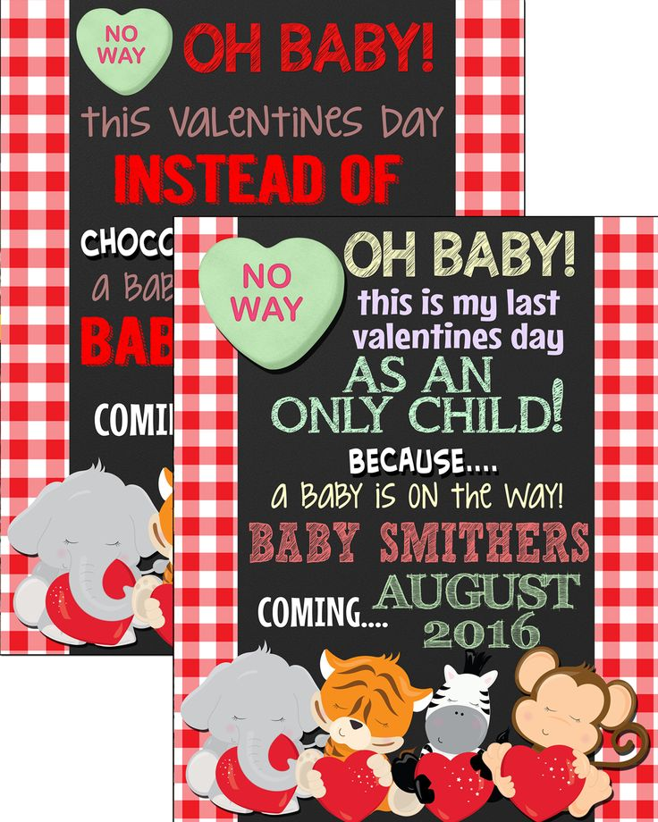 184 Best Valentines Day Pregnancy Announcements Images On Pinterest |  Expecting Baby Announcements, Pregnancy Announcements And Valantine Day