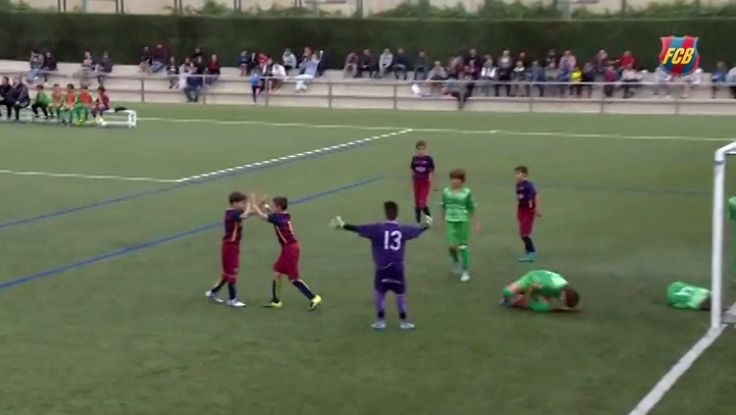 Watch Two 11-Year-Old Friends From Barcelona Destroy Everybody. #Barcelona #soccer #youthsoccer #goal #soccergoals #soccerkids