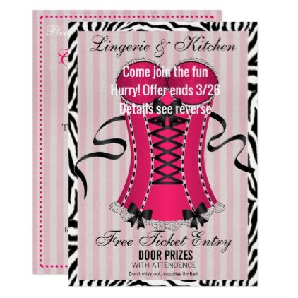 Inspirational Kitchen Party Invitation Cards Design