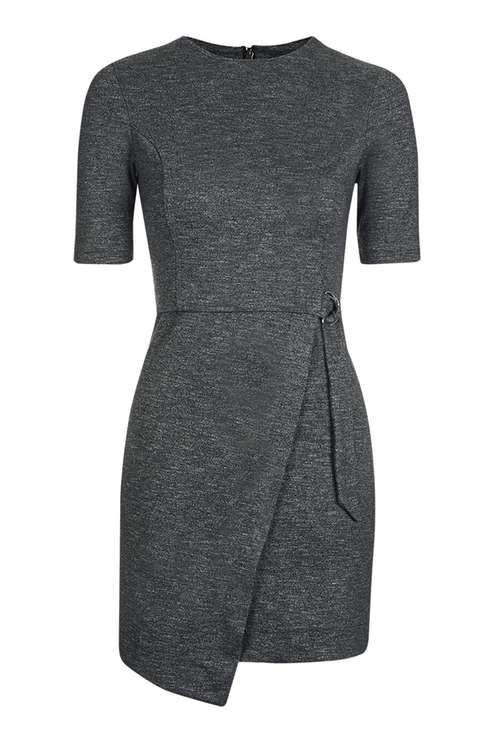 Wrap Skirt Mini Dress 50