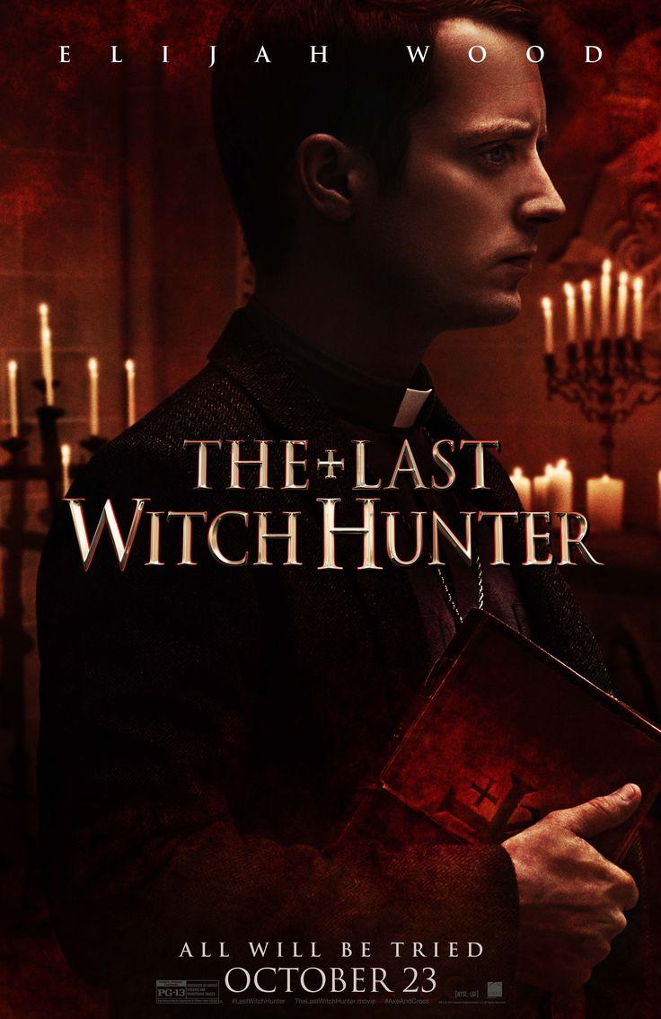 elijah wood protagoniza su propio cartel de the last witch hunter