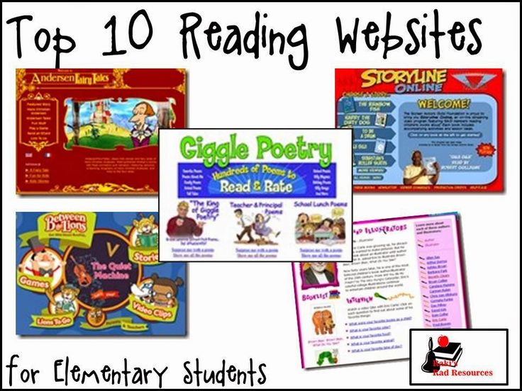 Top 10 Reading Websites for Elementary Students