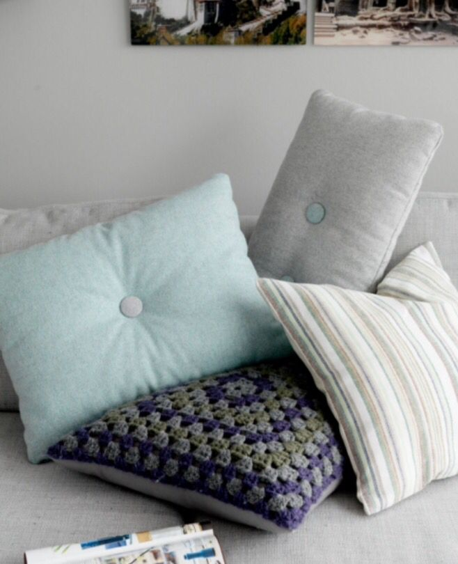 """These fresh pillows are from our feature """"Dreamweavers on Water"""""""