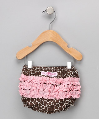 cute pattern for diaper ruffle cover
