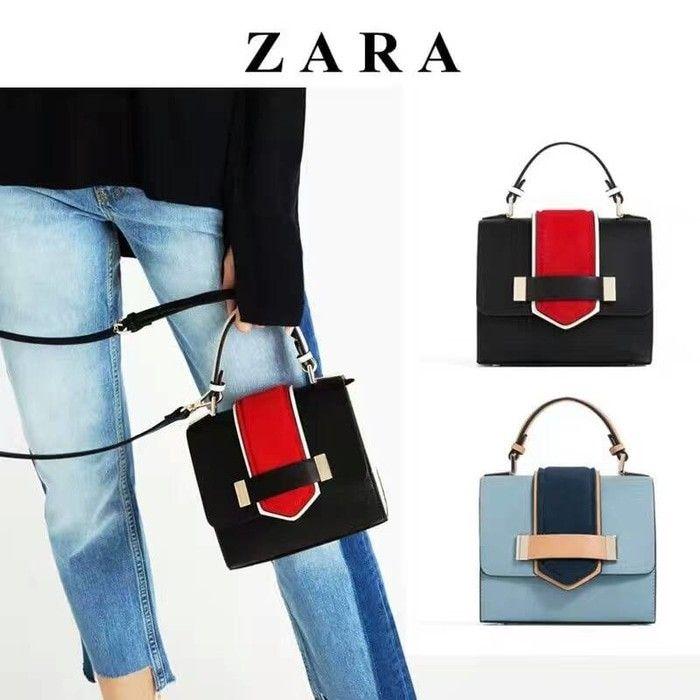 Tas Zara Contrast Ori 7102 18x11x15 240rb