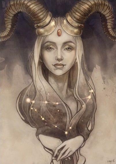 Image result for capricorn art