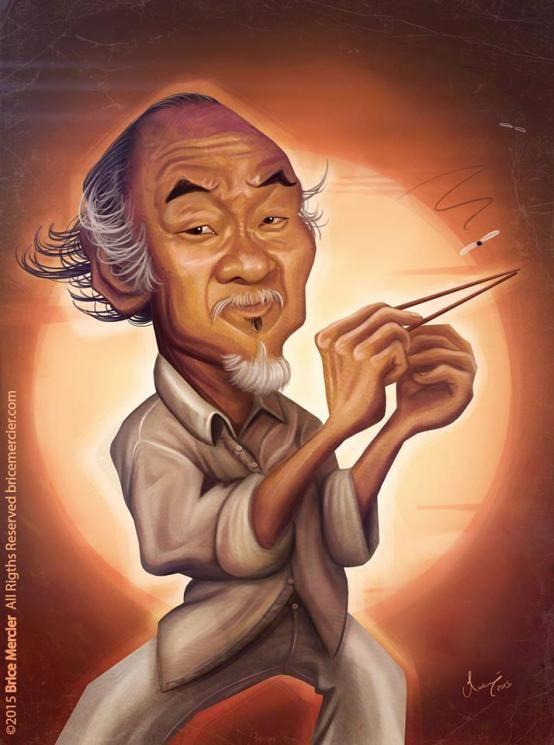 """Noriyuki """"Pat"""" Morita - Mr. Miyagi The Karate Kid"""