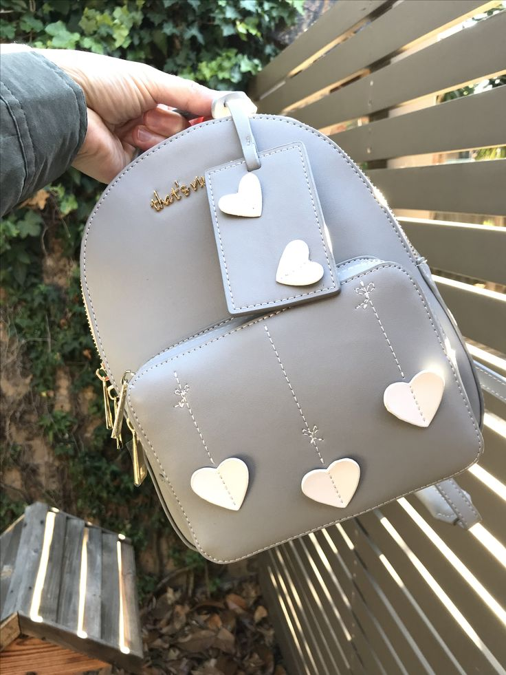 Grey backpack from that's vintage