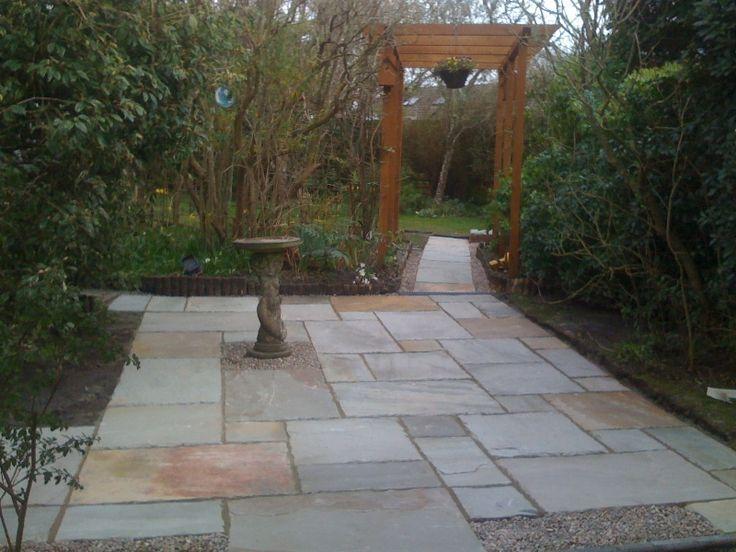 Flagstone Patio Ideas On A Budget Small Backyards