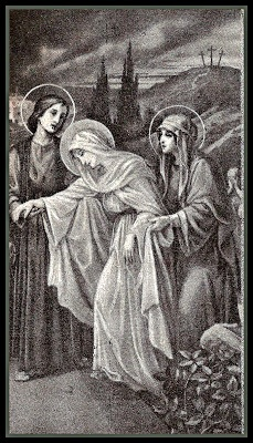 Jesus, Your Mother was broken-hearted at the sight of Your dead Body. How difficult to spend this day knowing only that Your body is in the tomb. How lovingly she gave You up to die for me! I belong to You. May I be with You forever.