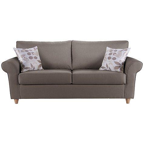 Buy John Lewis Gershwin Large Sofa Bed with Open Sprung Mattress Online at johnlewis.com £1300  w 228cm
