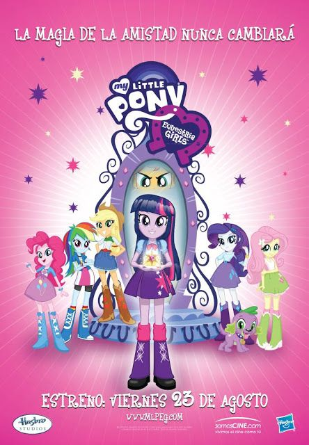 MY LITTLE PONY: EQUESTRIA GIRLS viernes 23 de agosto del 2013