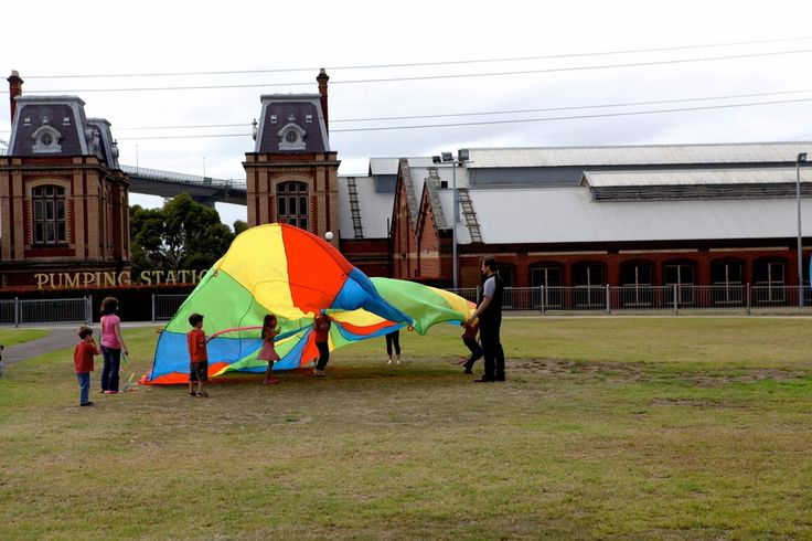Little kids' day at Scienceworks - Spotswood