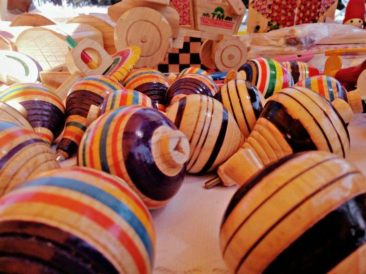 Juguetes tradicionales mexicanos ;) Foto: ©Valt