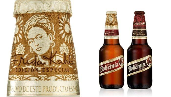 Bohemia Beer. Frida kahlo. Edición especial