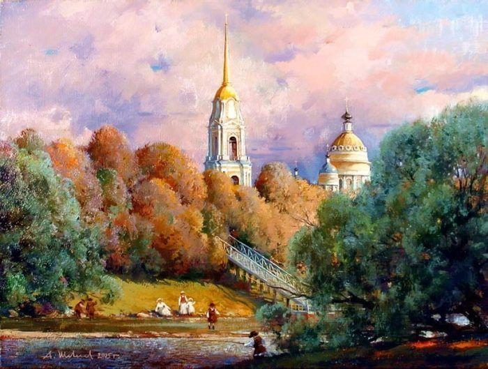 картины художника Александра Шевелёва-33 | Художники ...