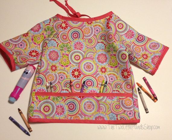 Children's Arts & Crafts Smock - Perfect for keeping clean