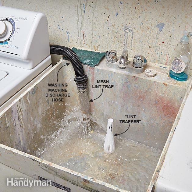 How To Prevent Clogged Drains Washing Machine Drain Hose