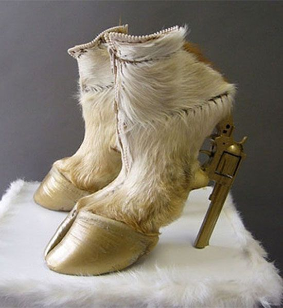 The World's Worst Shoes!!! Who comes up with these things??!  //Holy cow. Literally! - ME