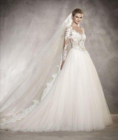 Pronovias Wedding Dresses - Style Arlene [Arlene] - $2,160.00 : Wedding Dresses, Bridesmaid Dresses, Prom Dresses and Bridal Dresses - Best Bridal Prices