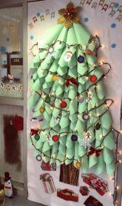 Christmas Door Ideas For Preschool And Kindergarten