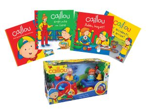 concours lire et jouer avec Caillou