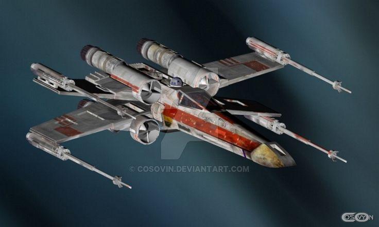14 Star Wars - XWing by cosovin.deviantart.com on @DeviantArt