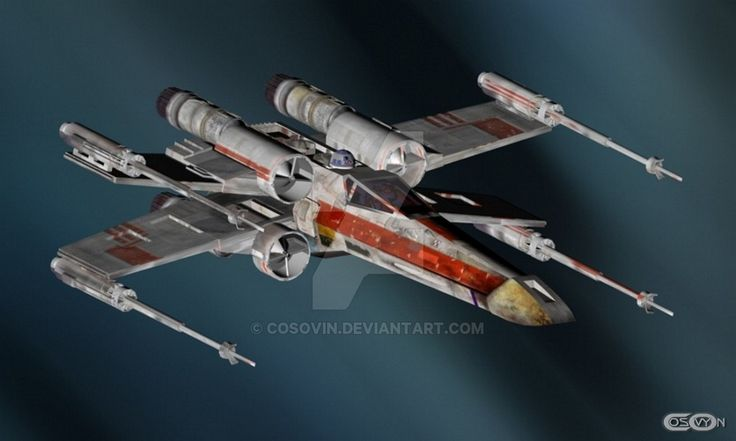 14 Star Wars - XWing by cosovin.deviantart.com on @DeviantArt