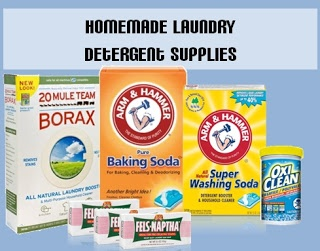 Homemade laundry detergent. $20 lasts 8 months!