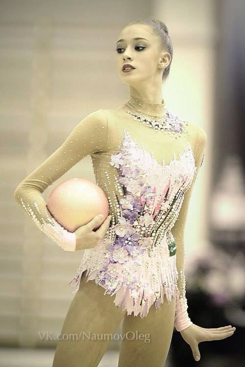 Maria Titova, Rhythmic Gymnastics costume inspiration for Sk8 Gr8 Designs