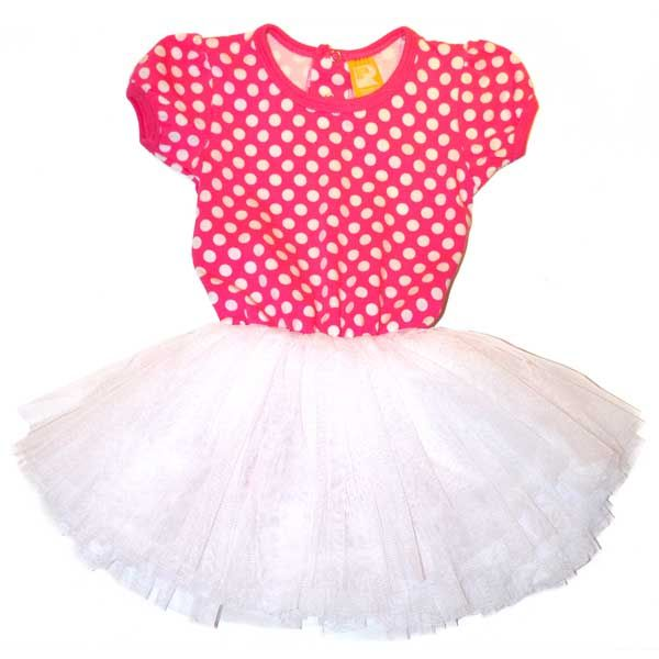 Circus Dress Pink Polka | Rock Your Baby | www.rockyourbaby.com