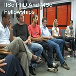 IISc PhD And MSc Fellowships for International Students in India, and applications are submitted till January 31, 2015. Indian Institute of Science is offering fellowships for international applicants to pursue a PhD. or M.Sc.(Engg) degree programme at IISc. - See more at: http://www.scholarshipsbar.com/iisc-phd-and-msc-fellowships.html#sthash.2huBagW6.dpuf