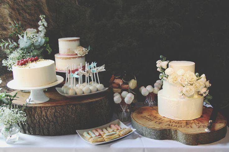 3 wedding cakes courtesy of Sucre Coeur, Scotland - gorgeous!!