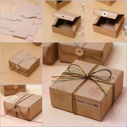 Cardboard Gift Box Million Ideas Club