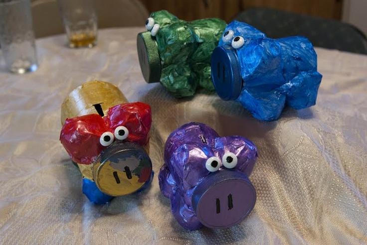 1000 ideas about homemade piggy banks on pinterest diy for Piggy bank craft