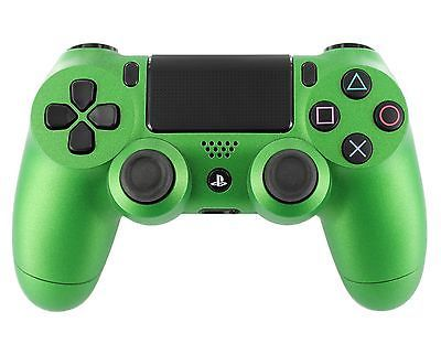 """Soft Touch Green"" PS4 Custom Modded Controller Soft Hard Surface Finish 
