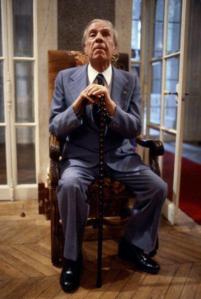 """Borges todo el año: Jorge Luis Borges: Anatomía de mi """"Ultra"""" - Foto: Borges by Gilbert Necioli - Gamma-Rapho Via Getty Images"""