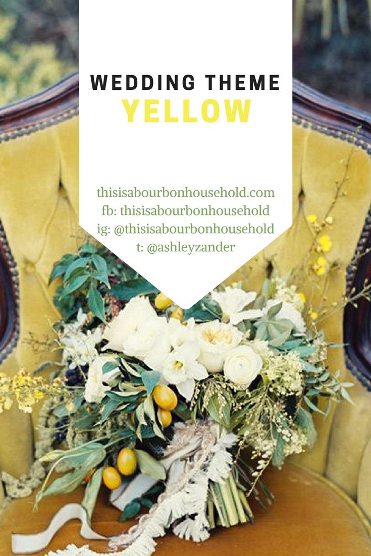 Yellow Theme Wedding Ideas . . Background photo used from https://pin.it/r3pbcpd2x3ufb3