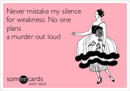 Oh My Freaking Stars!: Silence & Weakness                                                                                                                                                     More