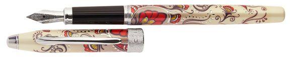 Cross Botanica Red Hummingbird Vine  Fountain Pen