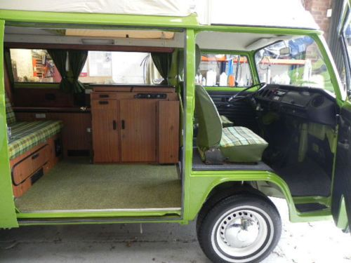 volkswagen vw type 2 camper westfalia berlin deluxe sold. Black Bedroom Furniture Sets. Home Design Ideas