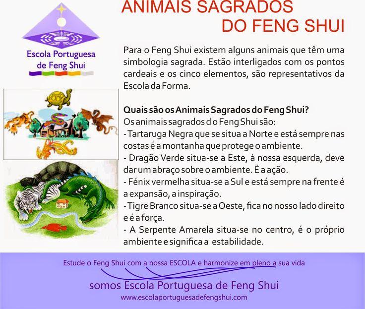 Escola Portuguesa de Feng Shui: ANIMAIS CELESTIAIS