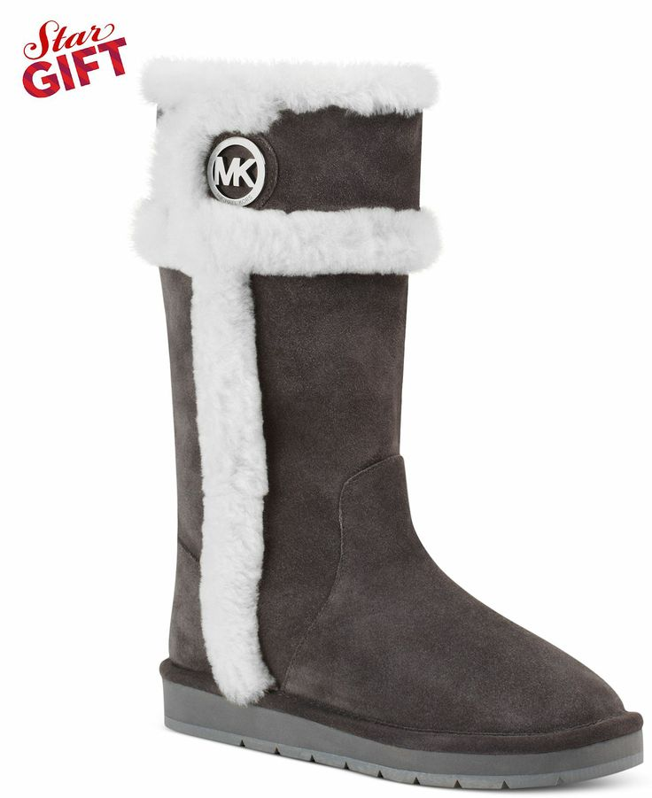 Love these Michael Kors Winter Tall Boots