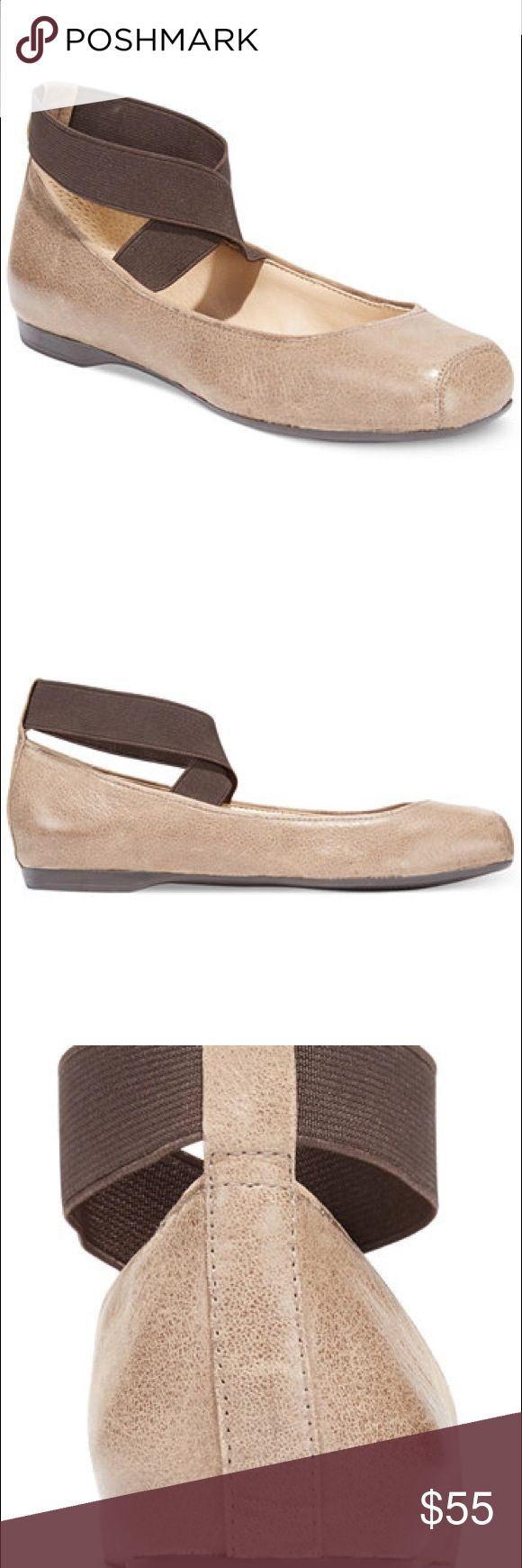 Jessica Simpson Ballet Flats Jessica Simpson Leather Ballet Flats in coffee color.  New in box.  Actual color is slightly darker than the stock photos. Jessica Simpson Shoes Flats & Loafers
